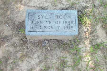 ROE, SYL - Boone County, Arkansas | SYL ROE - Arkansas Gravestone Photos