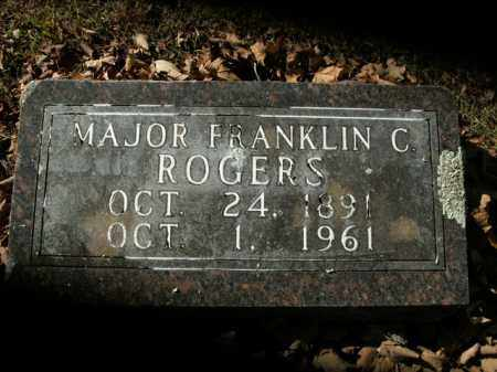 ROGERS  (VETERAN WWI WWII), FRANKLIN CLYDE - Boone County, Arkansas | FRANKLIN CLYDE ROGERS  (VETERAN WWI WWII) - Arkansas Gravestone Photos