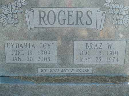ROGERS, BRAZ W. - Boone County, Arkansas | BRAZ W. ROGERS - Arkansas Gravestone Photos
