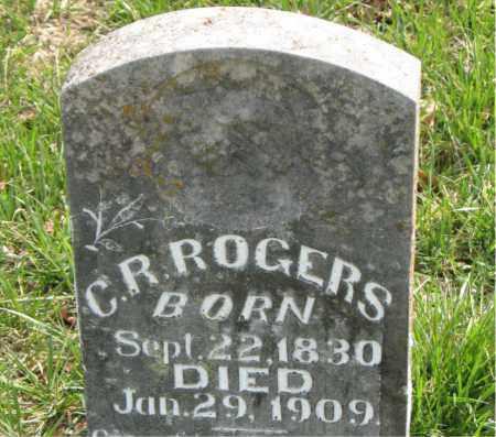 ROGERS, C. R. - Boone County, Arkansas | C. R. ROGERS - Arkansas Gravestone Photos