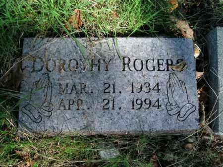 ROGERS, DOROTHY - Boone County, Arkansas | DOROTHY ROGERS - Arkansas Gravestone Photos