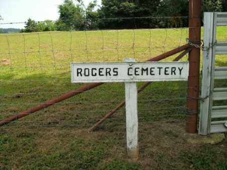 *ROGERS CEMETERY ENTRANCE GATE,  - Boone County, Arkansas |  *ROGERS CEMETERY ENTRANCE GATE - Arkansas Gravestone Photos