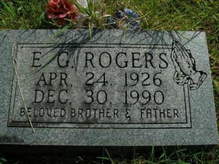 ROGERS, E.G. - Boone County, Arkansas | E.G. ROGERS - Arkansas Gravestone Photos