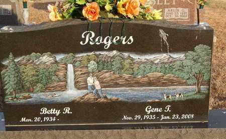 ROGERS, GENE T. - Boone County, Arkansas   GENE T. ROGERS - Arkansas Gravestone Photos