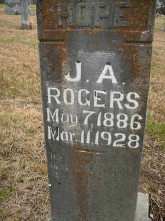ROGERS, J.A. - Boone County, Arkansas | J.A. ROGERS - Arkansas Gravestone Photos