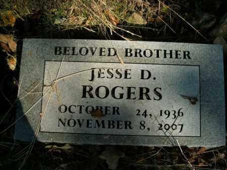 ROGERS, JESSE D. - Boone County, Arkansas | JESSE D. ROGERS - Arkansas Gravestone Photos