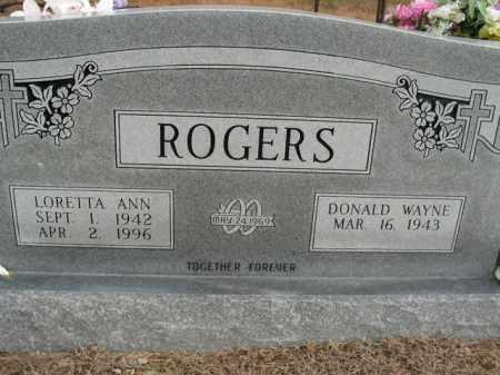 ROGERS, LORETTA ANN - Boone County, Arkansas | LORETTA ANN ROGERS - Arkansas Gravestone Photos