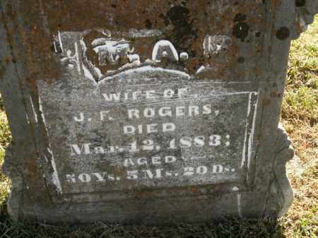 ROGERS, M.A. - Boone County, Arkansas | M.A. ROGERS - Arkansas Gravestone Photos