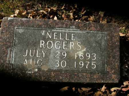 ROGERS, NELLE - Boone County, Arkansas | NELLE ROGERS - Arkansas Gravestone Photos