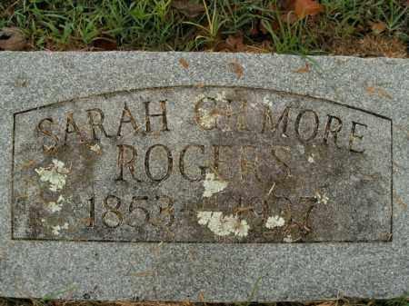 ROGERS, SARAH - Boone County, Arkansas | SARAH ROGERS - Arkansas Gravestone Photos