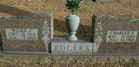 ROGERS, CHARLES F. - Boone County, Arkansas | CHARLES F. ROGERS - Arkansas Gravestone Photos
