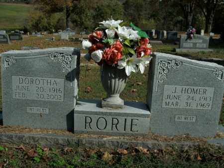 RORIE, J. HOMER - Boone County, Arkansas | J. HOMER RORIE - Arkansas Gravestone Photos