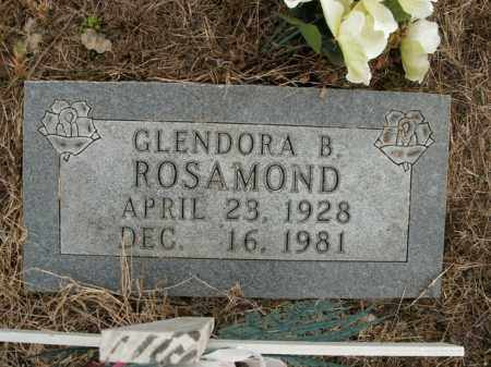 ROSAMOND, GLENDORA B. - Boone County, Arkansas | GLENDORA B. ROSAMOND - Arkansas Gravestone Photos