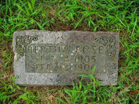 ROSE, BERTHA - Boone County, Arkansas | BERTHA ROSE - Arkansas Gravestone Photos