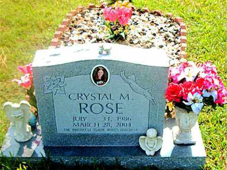 ROSE, CRYSTAL  M. - Boone County, Arkansas | CRYSTAL  M. ROSE - Arkansas Gravestone Photos