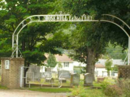 *ROSE HILL CEMETERY GATE,  - Boone County, Arkansas |  *ROSE HILL CEMETERY GATE - Arkansas Gravestone Photos