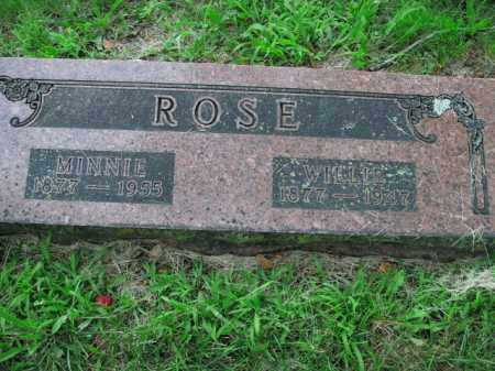 ROSE, MINNIE - Boone County, Arkansas | MINNIE ROSE - Arkansas Gravestone Photos