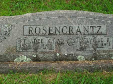 HANAFIELD ROSENCRANTZ, ETHADEE K. - Boone County, Arkansas | ETHADEE K. HANAFIELD ROSENCRANTZ - Arkansas Gravestone Photos