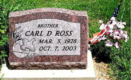 ROSS, CARL D. - Boone County, Arkansas   CARL D. ROSS - Arkansas Gravestone Photos