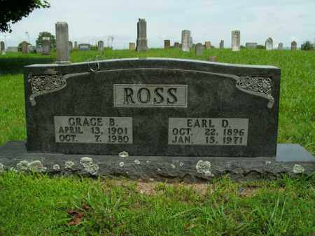 ROSS, EARL D. - Boone County, Arkansas | EARL D. ROSS - Arkansas Gravestone Photos