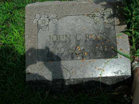 ROSS, JOHN C. - Boone County, Arkansas | JOHN C. ROSS - Arkansas Gravestone Photos