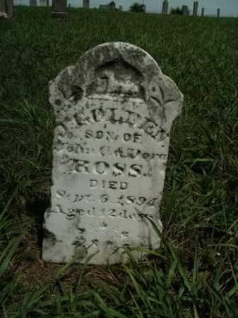 ROSS, J. GOLDEN - Boone County, Arkansas   J. GOLDEN ROSS - Arkansas Gravestone Photos