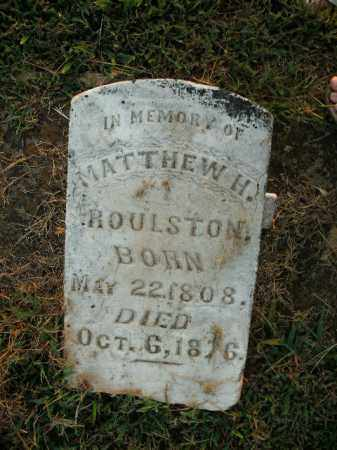 ROULSTON, MATTHEW HARVEY - Boone County, Arkansas | MATTHEW HARVEY ROULSTON - Arkansas Gravestone Photos