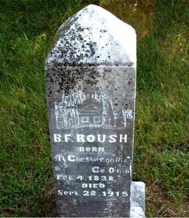 ROUSH, B.  F. - Boone County, Arkansas | B.  F. ROUSH - Arkansas Gravestone Photos
