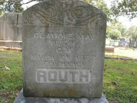 ROUTH, CLAUDIE MAY - Boone County, Arkansas | CLAUDIE MAY ROUTH - Arkansas Gravestone Photos
