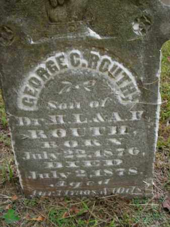 ROUTH, GEORGE C. - Boone County, Arkansas | GEORGE C. ROUTH - Arkansas Gravestone Photos