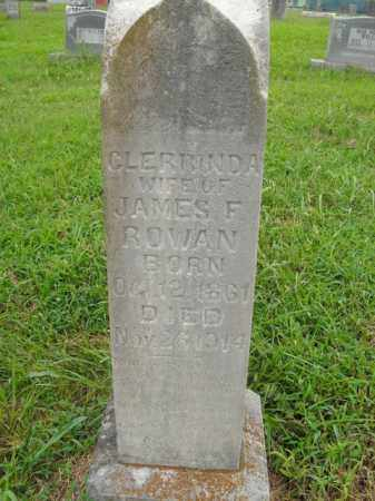 ROWAN, CLERRINDA - Boone County, Arkansas | CLERRINDA ROWAN - Arkansas Gravestone Photos