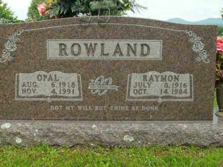 MOUNT ROWLAND, OPAL MAE - Boone County, Arkansas | OPAL MAE MOUNT ROWLAND - Arkansas Gravestone Photos