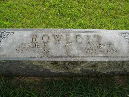 ROWLETT, MARY F. - Boone County, Arkansas | MARY F. ROWLETT - Arkansas Gravestone Photos