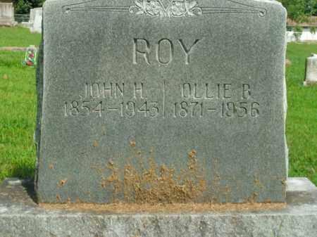ROY, OLLIE B. - Boone County, Arkansas | OLLIE B. ROY - Arkansas Gravestone Photos