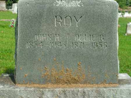 ROY, OLLIE B. - Boone County, Arkansas | OLLIE B. ROY - Arkansas Gravestone Photos