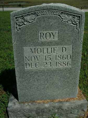 ROY, MOLLIE D. - Boone County, Arkansas | MOLLIE D. ROY - Arkansas Gravestone Photos