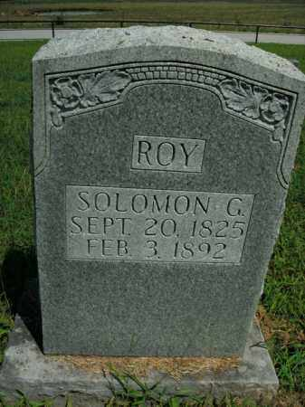 ROY, SOLOMON G. - Boone County, Arkansas | SOLOMON G. ROY - Arkansas Gravestone Photos