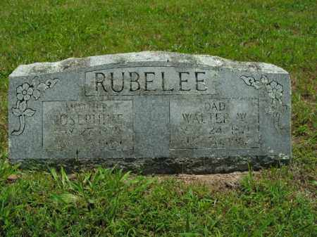 RUBELEE, WALTER WILLIAM - Boone County, Arkansas | WALTER WILLIAM RUBELEE - Arkansas Gravestone Photos
