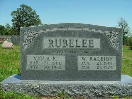 RUBELEE, W. RALEIGH - Boone County, Arkansas | W. RALEIGH RUBELEE - Arkansas Gravestone Photos