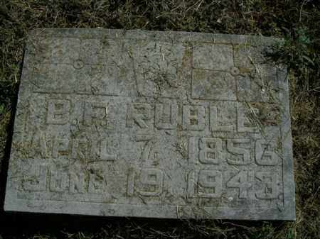 RUBLE, BENJAMIN F. - Boone County, Arkansas | BENJAMIN F. RUBLE - Arkansas Gravestone Photos