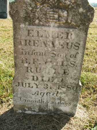 RUBLE, ELMER IRENAEUS - Boone County, Arkansas | ELMER IRENAEUS RUBLE - Arkansas Gravestone Photos