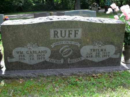 RUFF, WM. GARLAND - Boone County, Arkansas | WM. GARLAND RUFF - Arkansas Gravestone Photos
