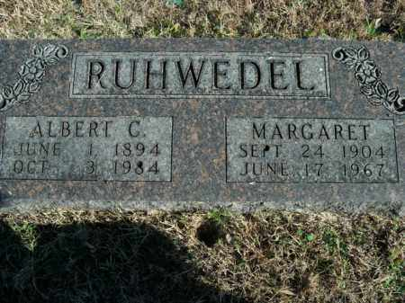 RUHWEDEL, ALBERT C. - Boone County, Arkansas | ALBERT C. RUHWEDEL - Arkansas Gravestone Photos
