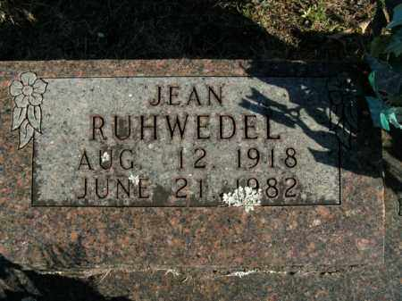 RUHWEDEL, JEAN - Boone County, Arkansas | JEAN RUHWEDEL - Arkansas Gravestone Photos