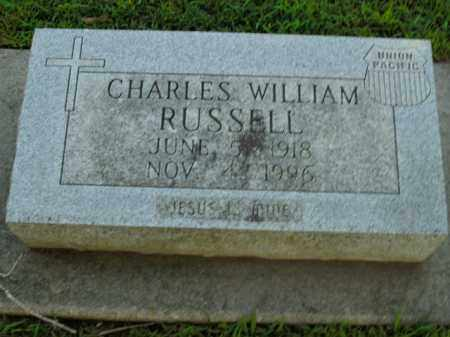 RUSSELL, CHARLES WILLIAM - Boone County, Arkansas | CHARLES WILLIAM RUSSELL - Arkansas Gravestone Photos