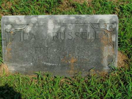 RUSSELL, IDA J. - Boone County, Arkansas | IDA J. RUSSELL - Arkansas Gravestone Photos
