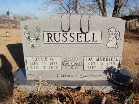 RUSSELL, IDA MURRIELL - Boone County, Arkansas | IDA MURRIELL RUSSELL - Arkansas Gravestone Photos