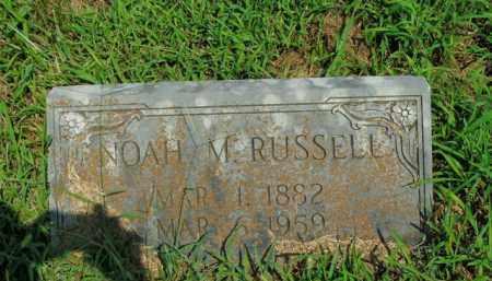 RUSSELL, NOAH M. - Boone County, Arkansas | NOAH M. RUSSELL - Arkansas Gravestone Photos