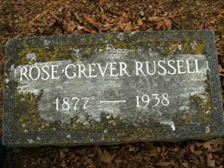 RUSSELL, ROSE GREVER - Boone County, Arkansas | ROSE GREVER RUSSELL - Arkansas Gravestone Photos
