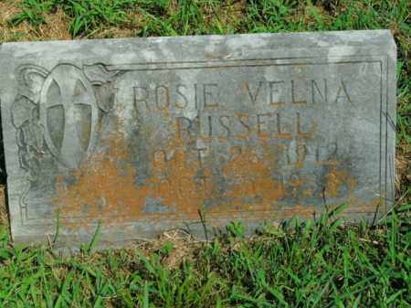 RUSSELL, ROSIE VELNA - Boone County, Arkansas | ROSIE VELNA RUSSELL - Arkansas Gravestone Photos